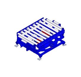 Pallet roller turntable