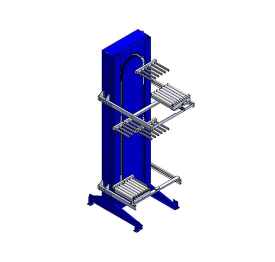 Carton vertical sorting machine