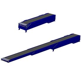 Carton telescopic belt conveyor
