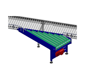 Carton narrow-belt merge&spurs