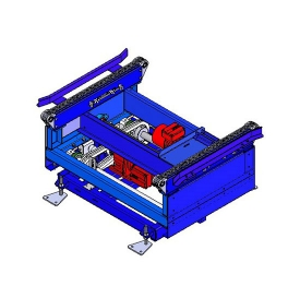 Pallet  chain lift transfer unit